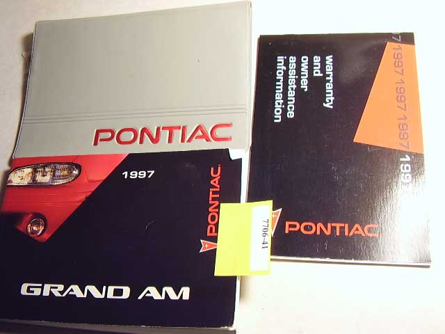 1997 Pontiac Grand Am Owners Manual