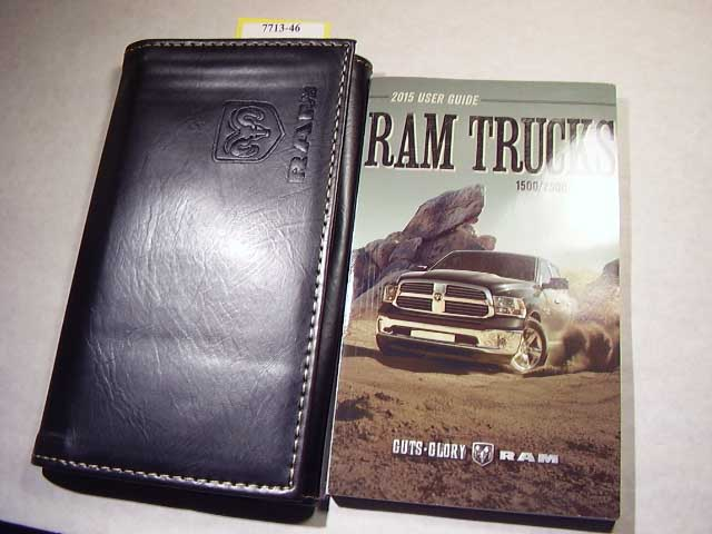 2015 Dodge Ram Truck 1500 2500 3500 Owners Manuals
