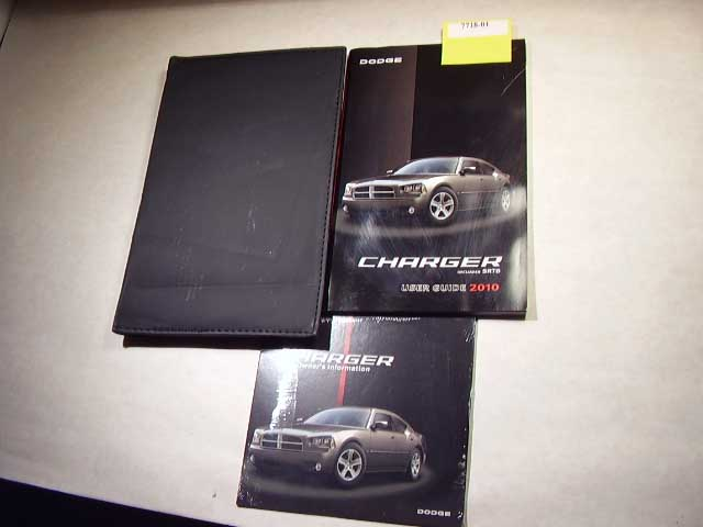 2010 Dodge Charger incl SRT8 Owners Manual