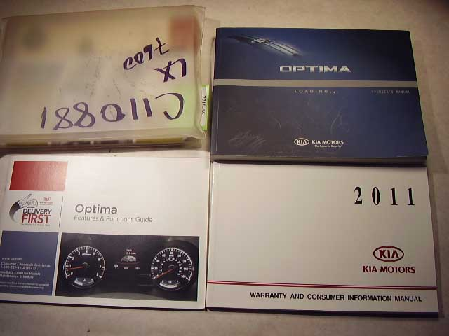 2011 Kia Optima Owners Manual