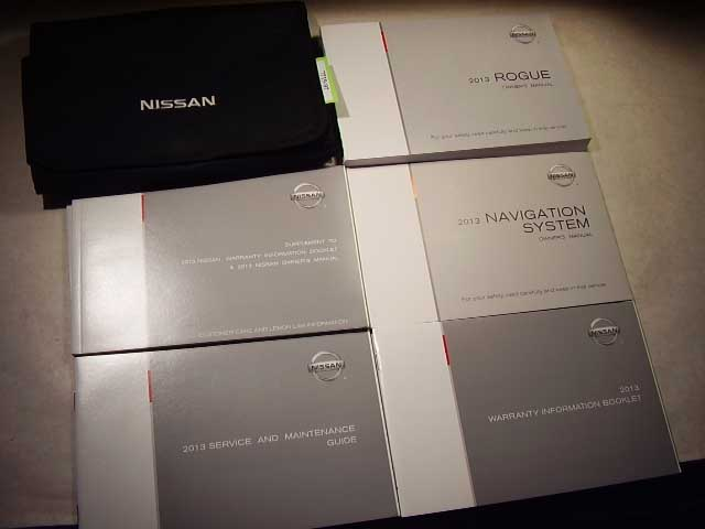2013 Nissan Rogue with navigation manual Owners Manual