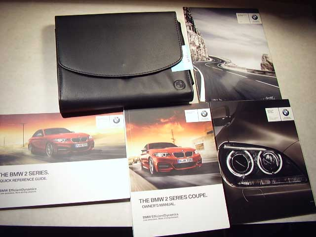 2015 BMW 2 Series Owners Manual