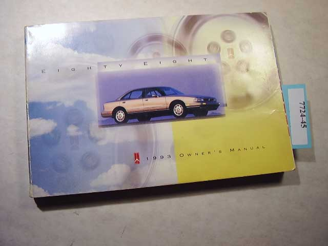 1993 Oldsmobile 88 Eighty Eight Owners Manual