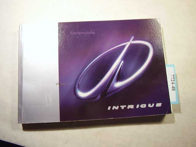 2001 Oldsmobile Intrigue Owners Manual