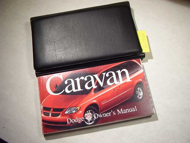 2001 Dodge Caravan Owners Manual
