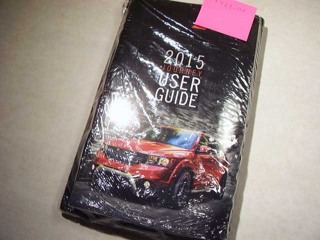 2015 Dodge Journey Owners Manual