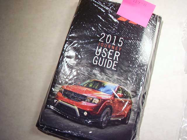 2008 Dodge Journey Owners Manual