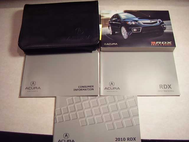 2010 Acura RDX Owners Manual