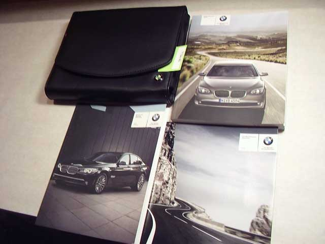2012 BMW 7 Series Owners Manual