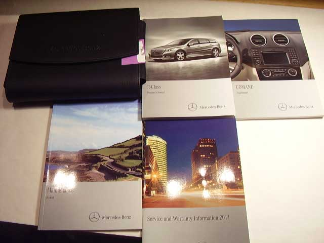 2011 Mercedes R-Class with Command guide Owners Manual