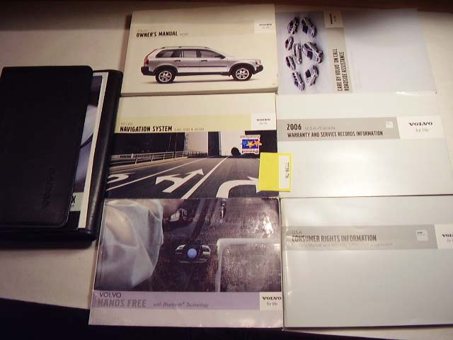 2006 Volvo XC90 with navigation guide Owners Manual