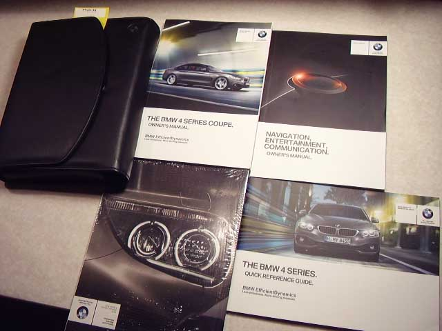 2015 BMW 4 Series Coupe with Navigation Supplement Owners Manual