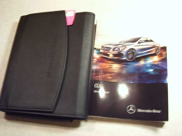 2016 Mercedes CLA Owners Manual