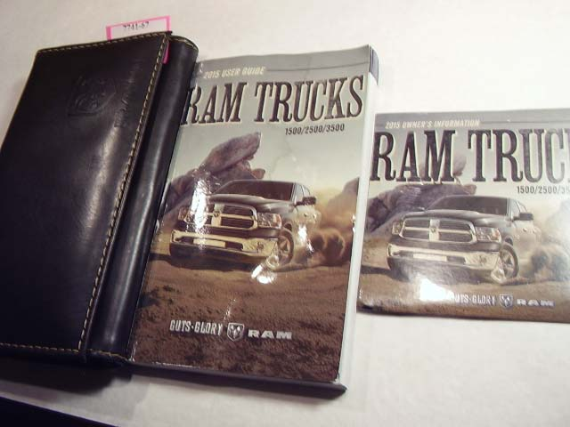 2015 Dodge Ram Truck including Diesel Owners Manual