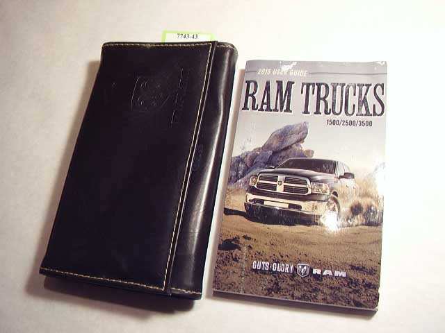 2015 Dodge Ram Truck Owners Manual