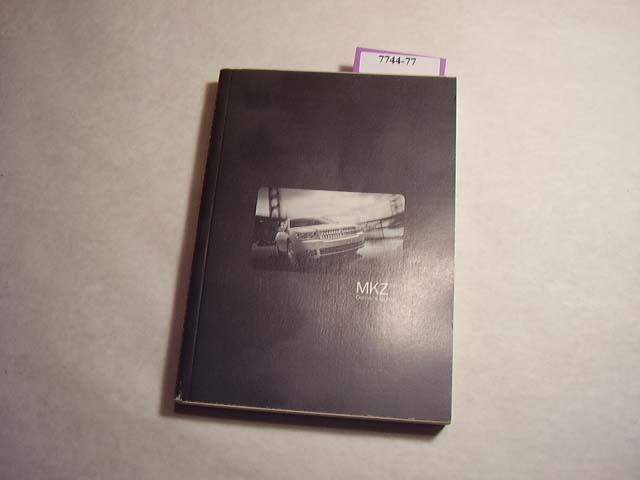 2007 Lincoln MKZ Owners Manual