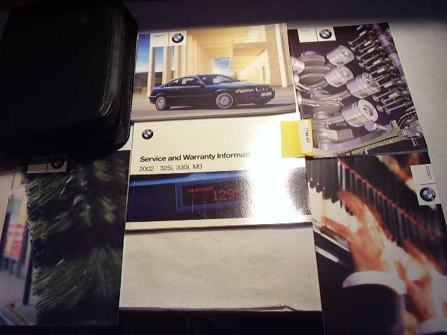 2002 BMW 3 Series Owners Manual