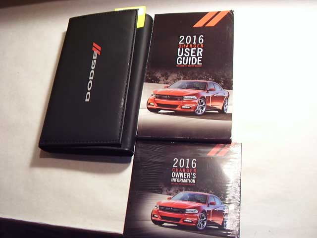 2016 Dodge Charger including SRT and Hellcat Owners Manual