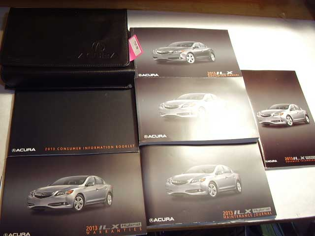 2013 Acura ILX Hybrid with navigation supplement Owners Manual