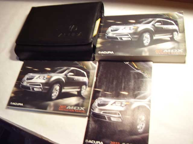 2011 Acura MDX with navigation supplement Owners Manual