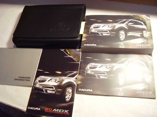 2012 Acura MDX Owners Manual