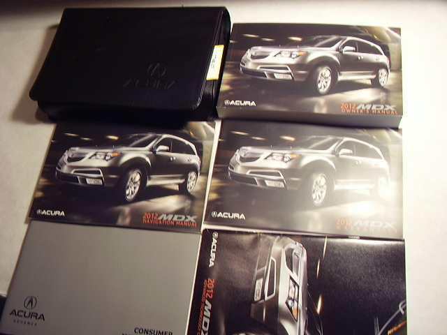 2012 Acura MDX with navigation supplement Owners Manual