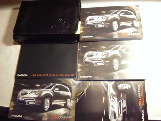 2013 Acura MDX with navigation supplement Owners Manual