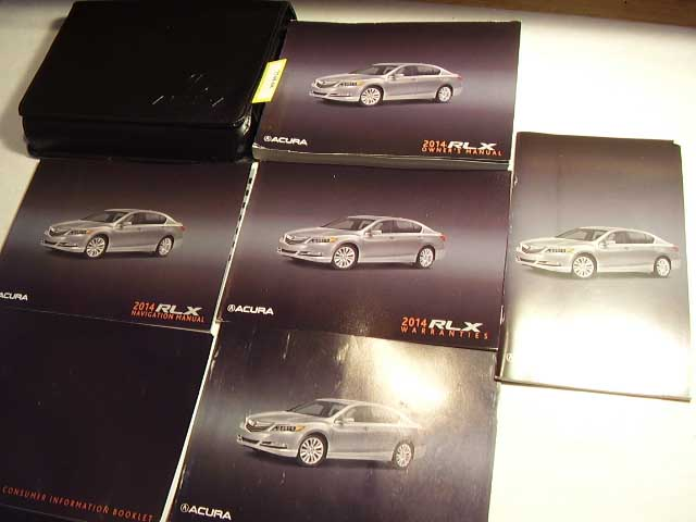2014 Acura RLX with navigation supplement Owners Manual