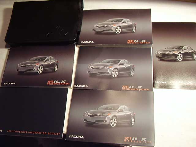 2013 Acura ILX with navigation supplement Owners Manual