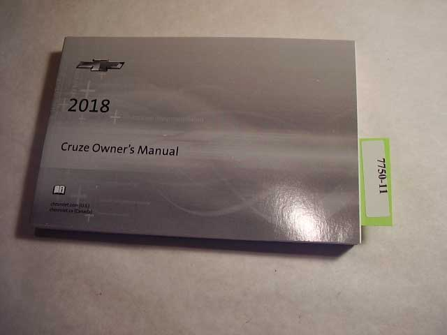 2015 Chevrolet Cruze Owners Manual