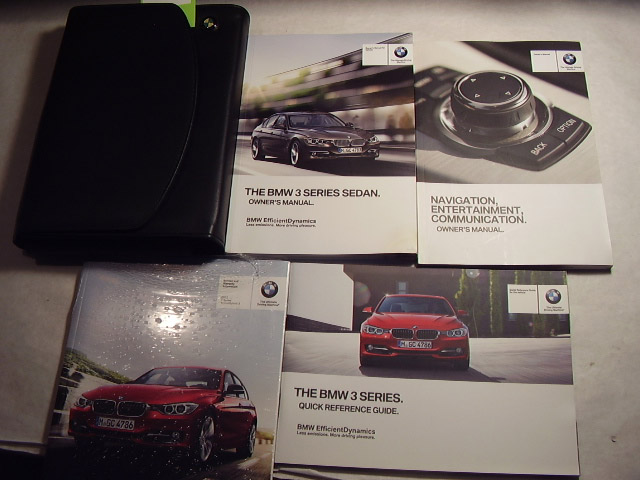 2013 BMW 3 Series Sedan with Navigation Supplement Owners Manual