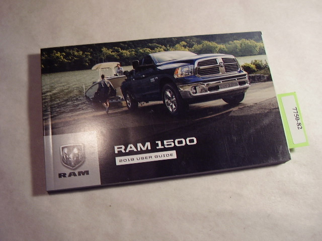 2019 Dodge Ram 1500 Owners Manual