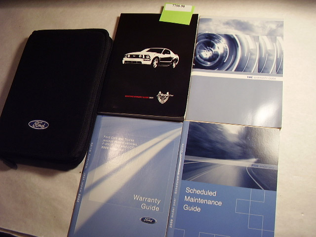 2009 Ford Mustang Owners Manual