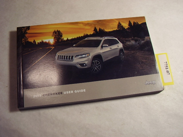 2019 Jeep Cherokee Owners Manual