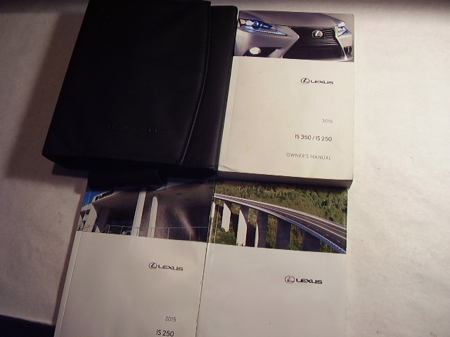 2015 Lexus OS350 IS250 Owners Manual
