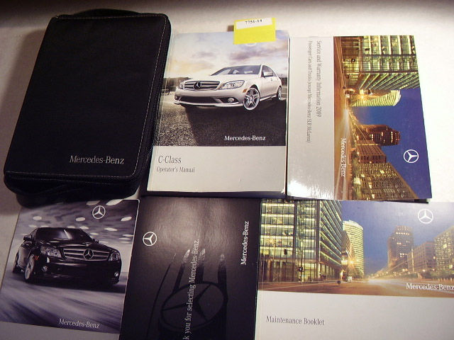 2009 Mercedes Benz C Class C-Class Owners Manual