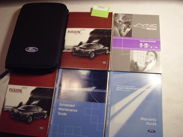 2010 Ford Fusion Owners Manual
