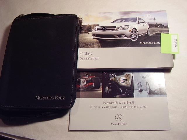 2009 Mercedes C-Class Owners Manual