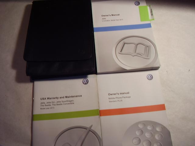 2013 Volkswagen Jetta Owners Manual