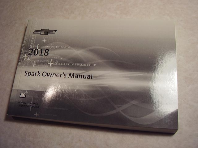 2018 Chevrolet Spark Owners Manual