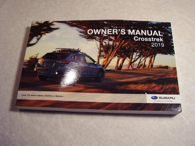 2019 Subaru Crosstrek Owners Manual