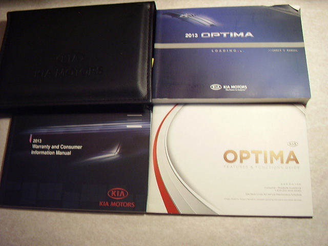 2013 Kia Optima Owners Manual