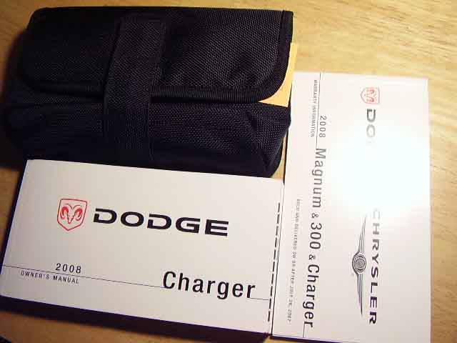 2008 Dodge Charger Owners Manuals