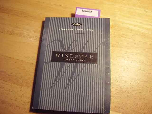 1995 Ford Windstar Owners Manuals