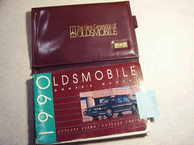 1990 Oldsmobile Cutlass Ciera and Cruiser Owners Manual