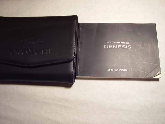2009 Hyundai Genesis Owners Manual