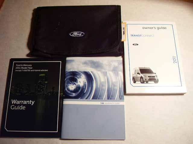 2007 Ford Transit Connect Owners Manuals