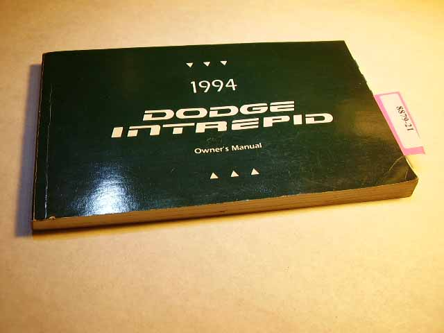 1994 Dodge Intrepid Owners Manuals