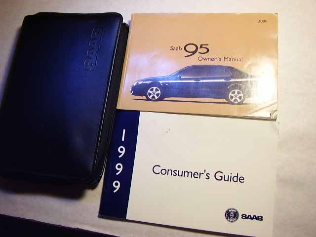2000 Saab 95 9-5 Owners Manual