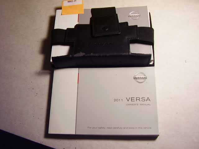 2011 Nissan Versa Owners Manual